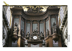Pipe Organ In St Sulpice Carry-all Pouch