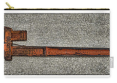 Pipe Wrench Made In U S A Carry-all Pouch