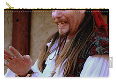 Pirate Shantyman Carry-all Pouch by Rodney Lee Williams