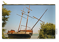 Pirate Ship Or Sailing Ship Carry-all Pouch by Sue Smith