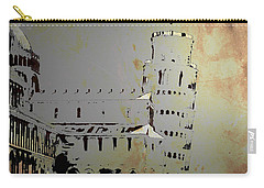 Carry-all Pouch featuring the digital art Pisa Italy 1 by Brian Reaves