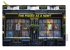 Pissed As A Newt Pub  Carry-all Pouch by David Pyatt