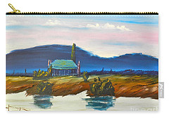 Carry-all Pouch featuring the painting Pittown by Pamela  Meredith