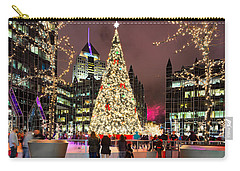 Pittsburgh Holiday Season 2 Carry-all Pouch by Emmanuel Panagiotakis