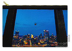 Pittsburgh Skyline At Night Carry-all Pouch