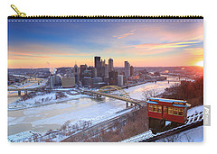 Pittsburgh Winter 2 Carry-all Pouch by Emmanuel Panagiotakis