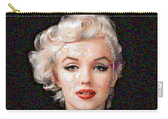 Pixelated Marilyn Carry-all Pouch