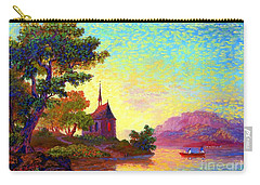 Beautiful Church, Place Of Welcome Carry-all Pouch by Jane Small