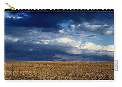 Carry-all Pouch featuring the photograph Plain Sky by Rodney Lee Williams