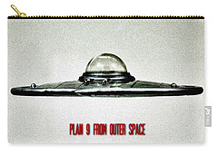 Plan 9 From Outer Space Carry-all Pouch by Benjamin Yeager