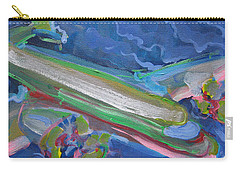 Plane Colorful Carry-all Pouch