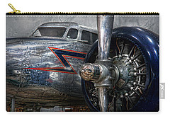 Plane - Hey Fly Boy  Carry-all Pouch by Mike Savad