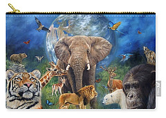 Planet Earth Carry-all Pouch by David Stribbling