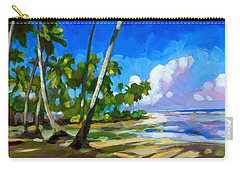 Coconut Palm Carry-All Pouches