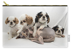 Playful Puppies Carry-all Pouch