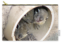 Playing In A Pipe Carry-all Pouch by Laurel Powell