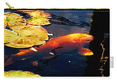 Playing Koi Carry-all Pouch