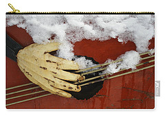 Playing The Cold Blues Carry-all Pouch