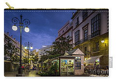 Plaza De Las Flores Cadiz Spain Carry-all Pouch