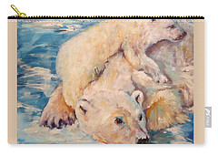 You Need Another Nap, Polar Bears Carry-all Pouch