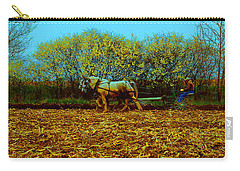 Carry-all Pouch featuring the photograph Plow Days Freeport  Tom Jelen by Tom Jelen