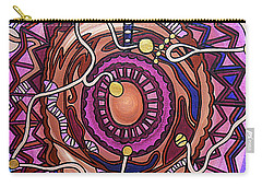 Carry-all Pouch featuring the painting Plugged In by Barbara St Jean