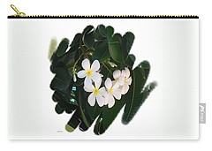Plumeria Carry-all Pouch by Scott Cameron