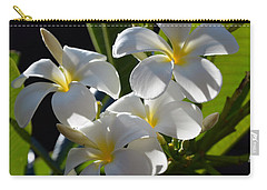 Carry-all Pouch featuring the photograph Plumeria's IIi by Robert Meanor