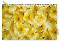 Plumerias In Bowl Carry-all Pouch