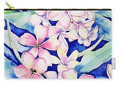 Plumerias Of Maui Carry-all Pouch
