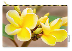 Plumerias Of Paradise 14 Carry-all Pouch