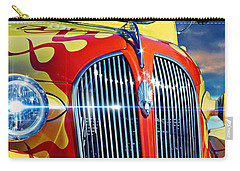 Classic Cars Carry-all Pouch featuring the photograph Plymouth Oldie by Aaron Berg