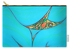 Pneuma Carry-all Pouch by Robert Nickologianis