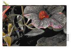 Carry-all Pouch featuring the photograph Pocket Of Orange by Thom Zehrfeld