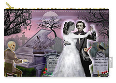 Poe And Annabel Lee Eternally Carry-all Pouch by Glenn Holbrook