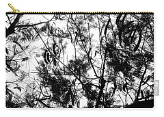 Carry-all Pouch featuring the photograph Poinciana Lace by Amar Sheow