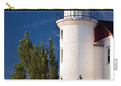 Point Betsie Lighthouse Michigan Carry-all Pouch by Adam Romanowicz