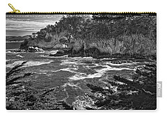 Carry-all Pouch featuring the photograph Point Lobo  by Ron White