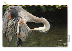 Point Of Interest Carry-all Pouch by Heather King