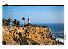 Carry-all Pouch featuring the photograph Point Vicente Lighthouse by Eleanor Abramson