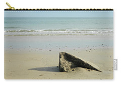 Pointed Rock At Squibby Carry-all Pouch by Kathy Barney