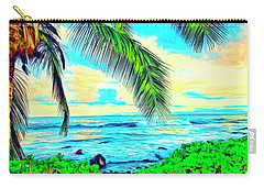 Poipu Sunrise Carry-all Pouch