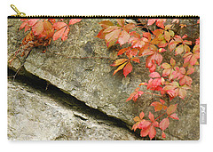 Carry-all Pouch featuring the photograph Poison Ivy by Mary Carol Story