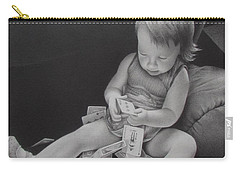 Pokerface Carry-all Pouch by Pamela Clements