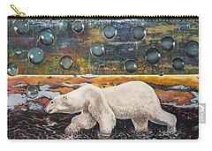 Polar Bear Displacement Replacement Carry-all Pouch