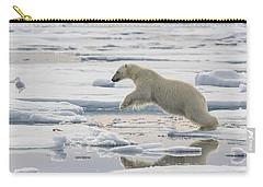 Polar Bear Jumping  Carry-all Pouch
