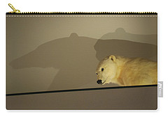 Polar Bear Shadows Carry-all Pouch