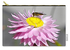 Carry-all Pouch featuring the photograph Pollination by Cathy Mahnke
