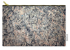 Pollock's Number 1 -- 1950 -- Lavender Mist Carry-all Pouch by Cora Wandel