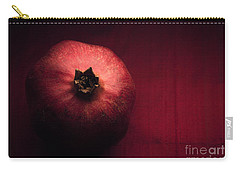 Pomegranate Carry-all Pouch by Ana V Ramirez